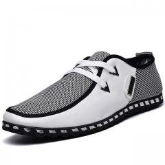 Patchwork Casual Canvas Men Shoes