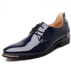 Leather Oxford Shoes Business Wedding Men Formal Shoes