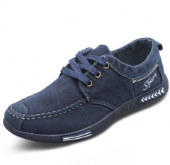 Denim Men Casual Canvas Shoes