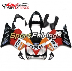 Fairing Kit Fit For Honda CBR600 F4i 2001 - 2003 - Red Orange Black