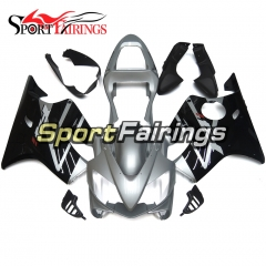Fairing Kit Fit For Honda CBR600 F4i 2001 - 2003 - Black Silver