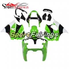 Fairing Kit Fit For Kawasaki ZX6R 2000-2002- Green White Black