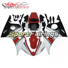 Fairing Kit Fit For Yamaha YZF R6 2003 2004 R6S 06 - 09 -  Red White