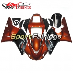 Fairing Kit Fit For Yamaha YZF R1 1998 1999 - Orange Black
