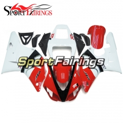 Fairing Kit Fit For Yamaha YZF R1 1998 1999 - White Red