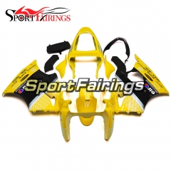 Fairing Kit Fit For Kawasaki ZX6R 2000-2002- Yellow Black