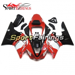 Fairing Kit Fit For Yamaha YZF R1 2000 2001 - Red Black White