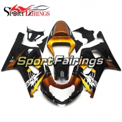 Fairing Kit Fit For Suzuki GSXR600 750 2000 - 2003 -Orange Black