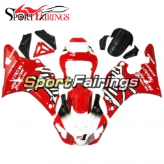 Fairing Kit Fit For Yamaha YZF R1 1998 1999 - Red White