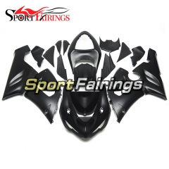 Fairing Kit Fit For Kawasaki ZX6R 2005 - 2006 - Flat Black