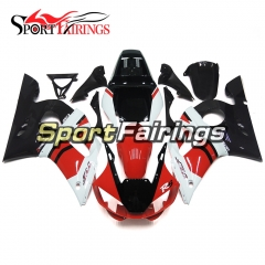 Fairing Kit Fit For Yamaha YZF R6 1998 - 2002 - White Red