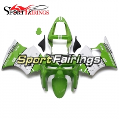 Fairing Kit Fit For Kawasaki ZX6R 1998 1999- Green White