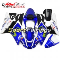 Fairing Kit Fit For Yamaha YZF R1 2000 2001 - Blue White