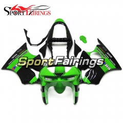 Fairing Kit Fit For Kawasaki ZX6R 1998 1999-Elf Green Black