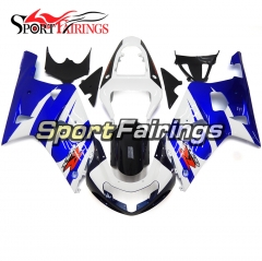 Fairing Kit Fit For Suzuki GSXR600 750 2000 - 2003 -Blue White