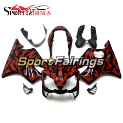 Fairing Kit Fit For Honda CBR600 F4i 2004 - 2007 - Black Red