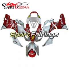 Fairing Kit Fit For Yamaha YZF R1 1998 1999 - Red Silver