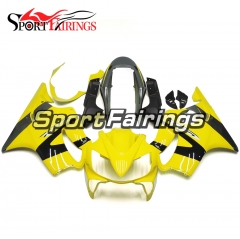 Fairing Kit Fit For Honda CBR600 F4i 2004 - 2007 - Yellow Black Grey