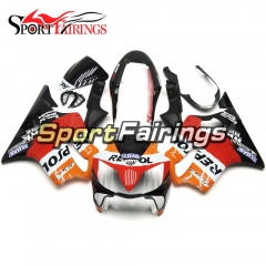 Fairing Kit Fit For Honda CBR600 F4i 2004 - 2007 - Orange Repsol