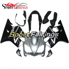 Fairing Kit Fit For Honda CBR600 F4i 2004 - 2007 - Black Silver