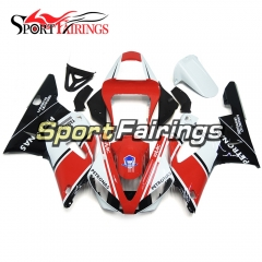 Fairing Kit Fit For Yamaha YZF R1 2000 2001 - Red White