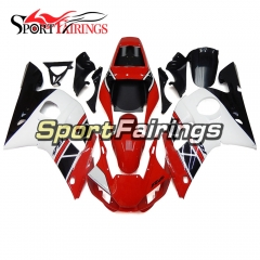 Fairing Kit Fit For Yamaha YZF R6 1998 - 2002 - Red White