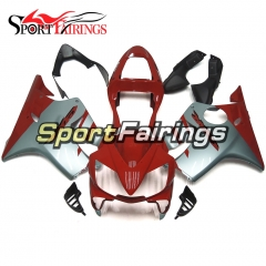 Fairing Kit Fit For Honda CBR600 F4i 2001 -2003 - Red Grey