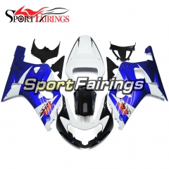 Fairing Kit Fit For Suzuki GSXR600 750 2000 - 2003 - White Blue