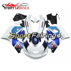 Fairing Kit Fit For Suzuki GSXR600 750 1996-1999 -Blue White