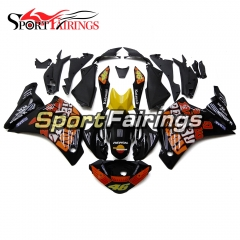 Fairing Kit Fit For Honda CBR250RR 2011 - 2014 - Black Orange