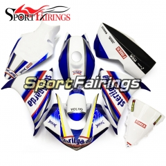 Fiberglass Racing Fairing Kit Fit For Yamaha YZF R1 2009 - 2011 - White Blue