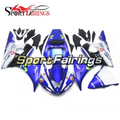 Fairing Kit Fit For Yamaha YZF R6 2005 -  Movistar Blue