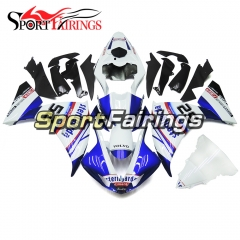 Fairing Kit Fit For Yamaha YZF R1 2009 - 2011 -White Blue
