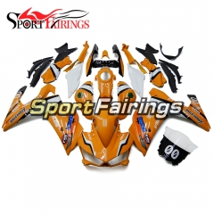 Fairing Kit Fit For Yamaha YZF R25 R3 2015 - 2017 - Orange White