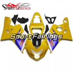 Fairing Kit Fit For Suzuki GSXR600 750 2004 - 2005 - Yellow Blue