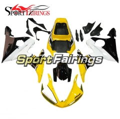 Fairing Kit Fit For Yamaha YZF R6 2005 -  Yellow White
