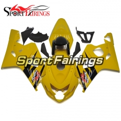 Fairing Kit Fit For Suzuki GSXR600 750 2004 - 2005 - Gloss Yellow