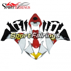 Fairing Kit Fit For Yamaha YZF R1 2009 - 2011 -White Red Yellow