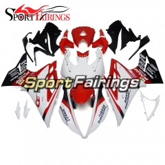 Fairing Kit Fit For Daytona675 2013 - 2016 -White Red