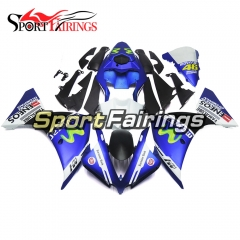 Fairing Kit Fit For Yamaha YZF R1 2012 - 2014 - Movistar Blue