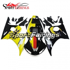Fairing Kit Fit For Yamaha YZF R6 2005 -  Yellow Black