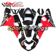 Fairing Kit Fit For Suzuki GSXR600 750 2004 - 2005 - Black Red