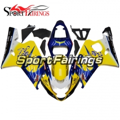 Fairing Kit Fit For Suzuki GSXR600 750 2004 - 2005 - Yellow