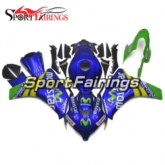 Fairing Kit Fit For Honda CBR1000RR 2008 - 2011 - Movistar Blue