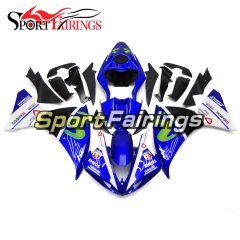 Fairing Kit Fit For Yamaha YZF R1 2009 - 2011 -Blue White
