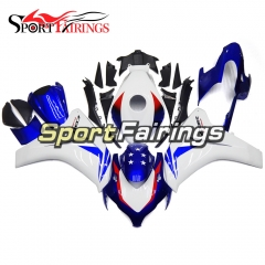 Fairing Kit Fit For Honda CBR1000RR 2008 - 2011 - HRC White Blue