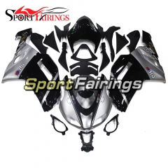 Fairing Kit Fit For Kawasaki ZX6R 2007 - 2008 -Black Sliver