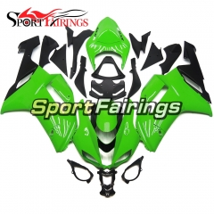 Fairing Kit Fit For Kawasaki ZX6R 2007 - 2008 -Green
