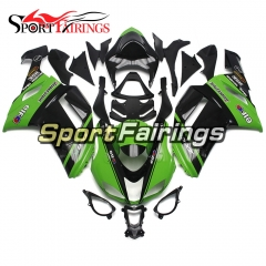 Fairing Kit Fit For Kawasaki ZX6R 2007 - 2008 -Green Black Energy