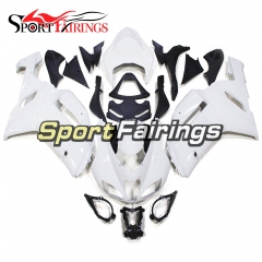 Fairing Kit Fit For Kawasaki ZX6R 2007 - 2008 - White